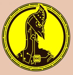 Cyborg Cassowary